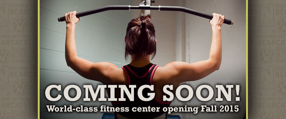 Coming Soon! World-class fitness center opening Fall 2015