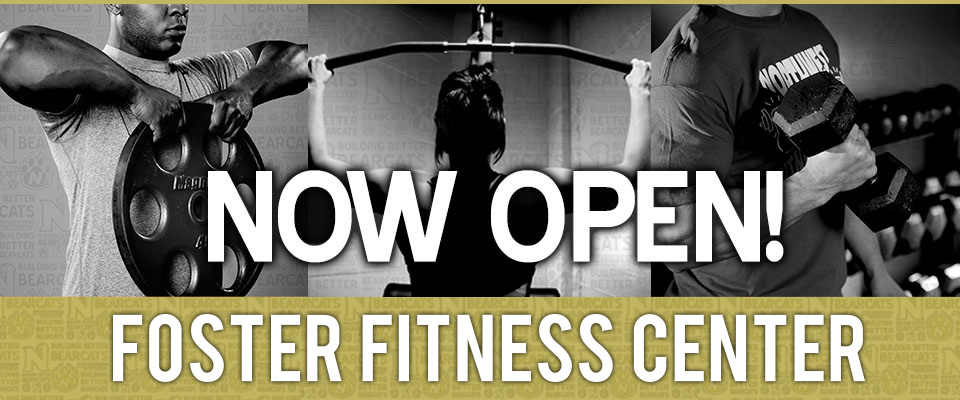 The Foster Fitness Center is now open!