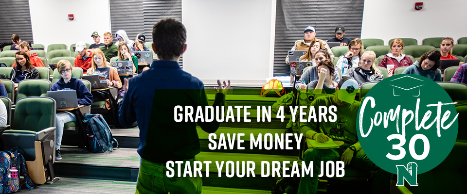 Complete 30: Graduate on time with a plan that fits your needs
